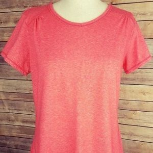 Columbia Sportswear Womens Pink Coral T-Shirt